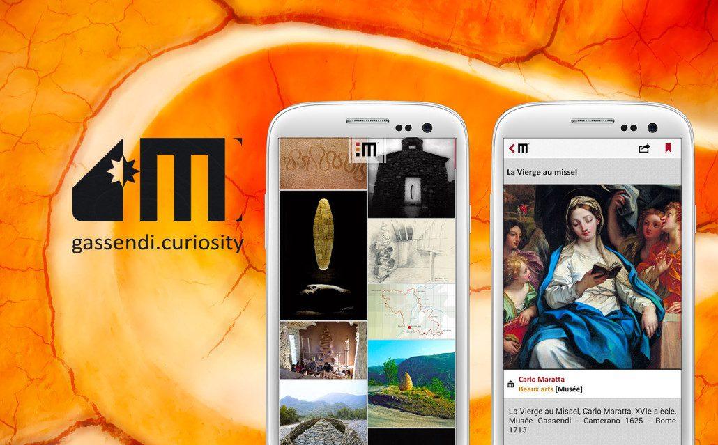 Gassendi Curiosity - Mobile Application