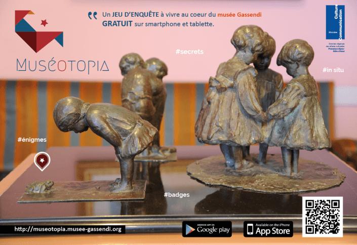 Muséotopia - le jeu d'enquête à vivre au musée Gassendi