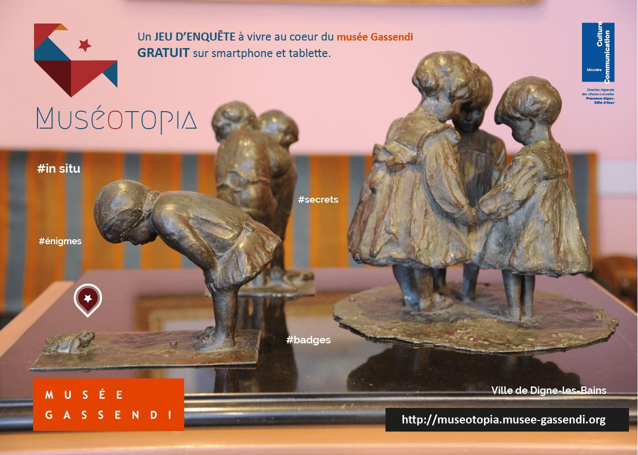 Muséotopia, jeu d'enquête dans le musée Gassendi