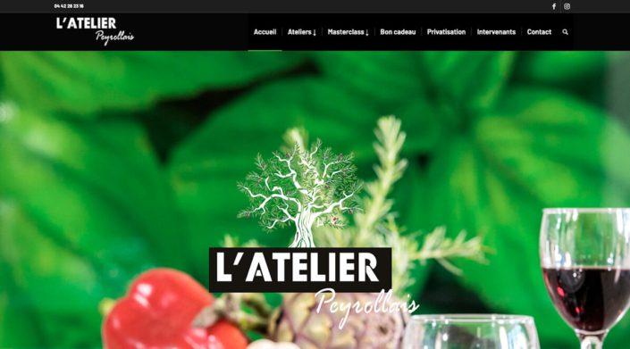 L'Atelier Peyrollais, un lieu de création et de dégustation gastronomique.